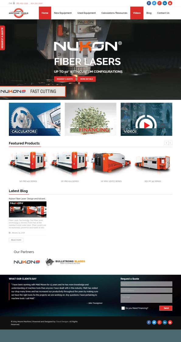 mooremt.com website